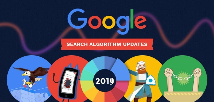 latest google algorithm update 2019
